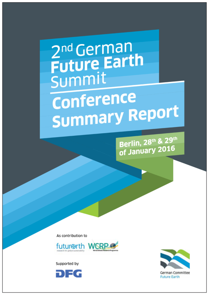 Cover Summit Report 2016